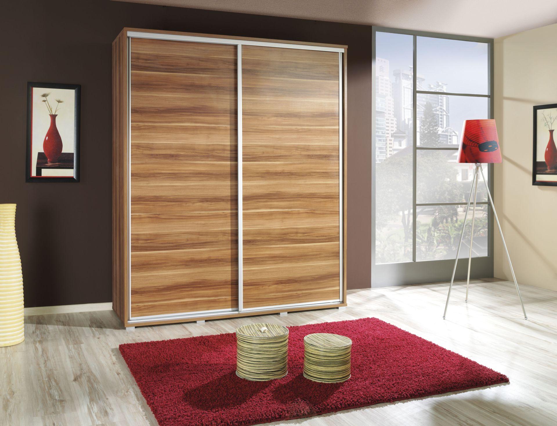 szafa przesuwna wroc aw 155 cm p155. Black Bedroom Furniture Sets. Home Design Ideas