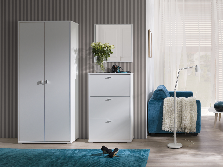 meble do przedpokoju garderoba bia a. Black Bedroom Furniture Sets. Home Design Ideas